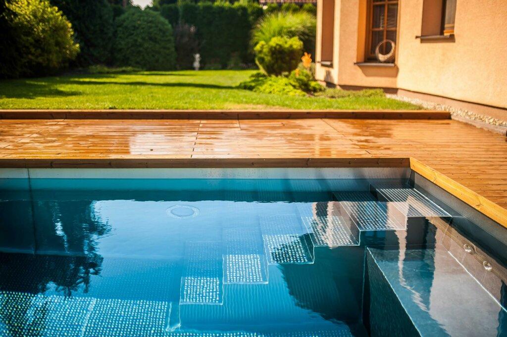 Záhradný nerezový bazén so skimmerom - Wonderwerk