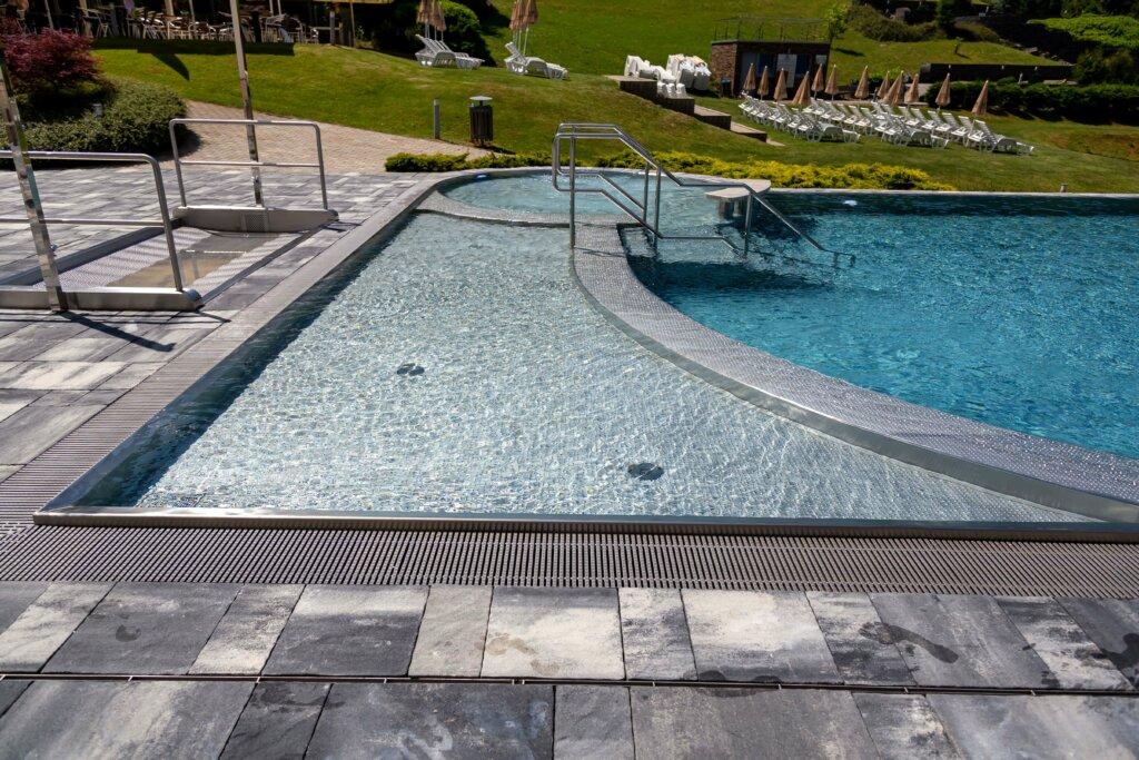 Detský nerezový bazénik